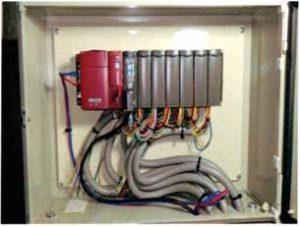 横行昇降式駐車装置 PLC交換(PLC盤増設)