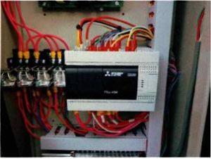 ピット式駐車装置 PLC置き換え(基板⇒PLC)