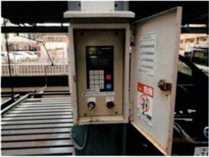 横行昇降式駐車装置操作盤リニューアル