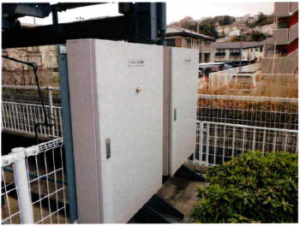 横行昇降式駐車装置制御盤リニューアル