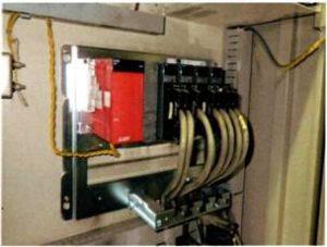 ゴンドラ式駐車装置 PLC 交換