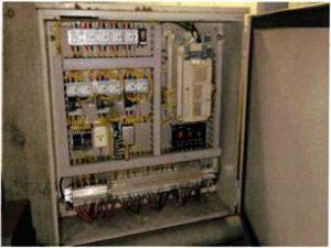 横行昇降式駐車装置 PLC交換(PLC 盤増設)事例